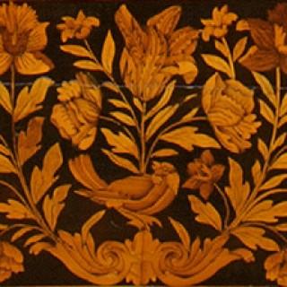 JamesII/William and Mary Period Marquetry Inlaid Walnut Longcase Clock