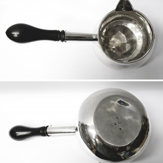George II Silver Brandy Pan by George Wickes