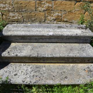 A flight of Portland stone steps