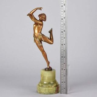 Art Deco Bronze Erotic Dancer