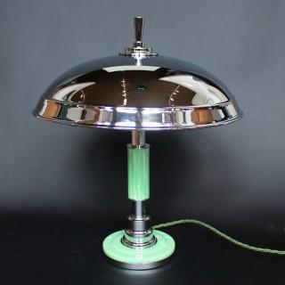 Art Deco Dome Lamp