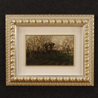 20th Century Italian Signed Landscape Painting