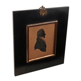 Georgian Silhouette of a Gentleman