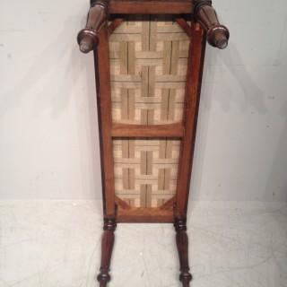 William IV long rosewood stool.