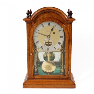 Dent Clock with Rare Detent Escapement