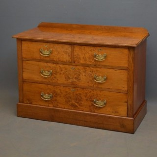 Edwardian Pollard Oak chest of Drawers