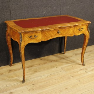 20th Century French Writing Desk In Rosewood In Louis XV Style