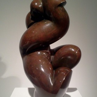 Original sculpture by Pollès (Inventor of Organic Cubism)
