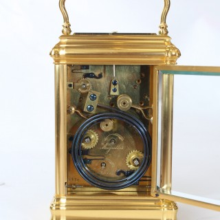 Gorge cased Grande Sonnerie Carriage Clock