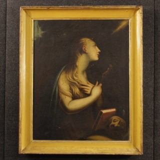 18th Century French Religious Painting Mary Magdalene