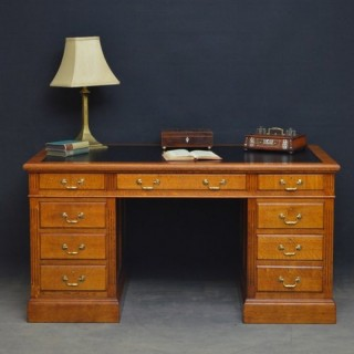 Early XXth Century Oak Desk