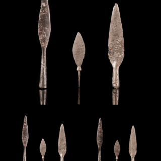 Selection Medieval Leaf-Shaped Arrowheads