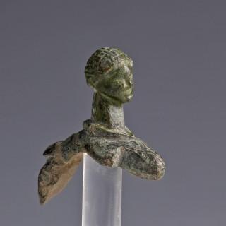 Celtic Bronze Head