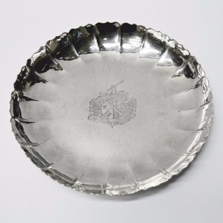 Antique George I Silver Strawberry Dish