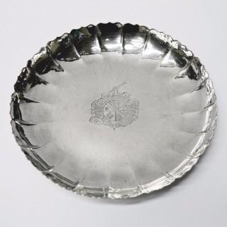 Antique George I Silver Strawberry Dish