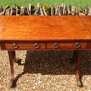 Exceptional Quality Early Nineteenth Century Regency Mahogany Sofa Table