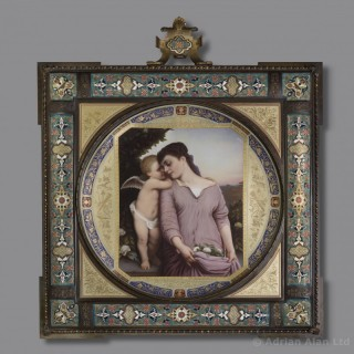 Liebesgeheimniss (Love's Secret) - A Vienna Porcelain Charger