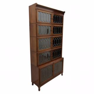 Rare Mahogany Sectional Bookcase