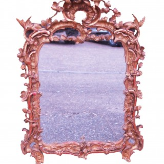 Antique 18th Century Gilt Wall Mirror