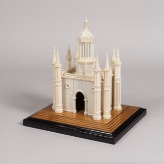 Architectural Model of an Mughal Indian City Gateway