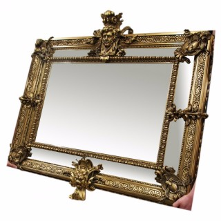 Victorian Gilt Mirror