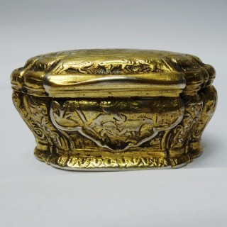 Antique Gilt Silver Box