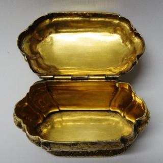 Antique Gilt Silver Box