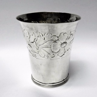 James II Silver Beaker