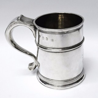 Antique Queen Anne Silver Mug