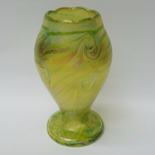 Antique Continental Glass Vase