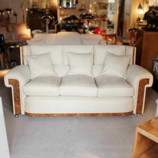 Art Deco Banker's Sofa