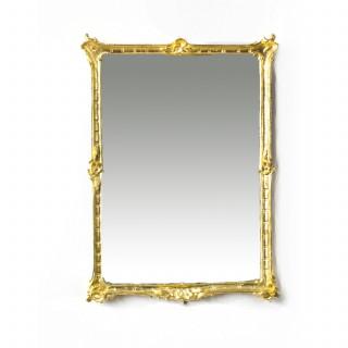 Antique Victorian Giltwood Mirror c.1860 51x38cm