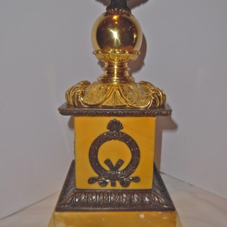 A French Empire style lamp