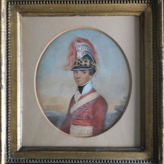 Captain Robert Woolf Junior (1786/7-1825) of the 6th  Madras Light Cavalry