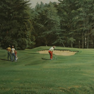 Merion Golf Club Print, Arthur Weaver