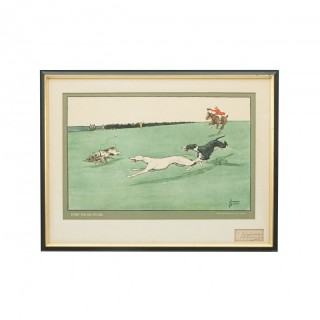 'Every Dog Has His Day' - Coursing Print