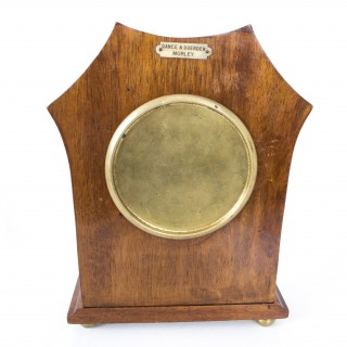 Antique Edwardian Inlaid Mahogany Mantel Clock c.1890