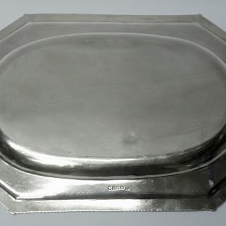 George III Silver Platters