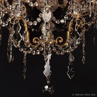 Napoléon III Gilt-Bronze and Cut-Glass Thirty-Six Light Chandelier