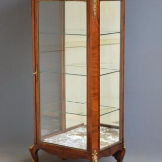 French Rosewood Display Cabinet Vitrine