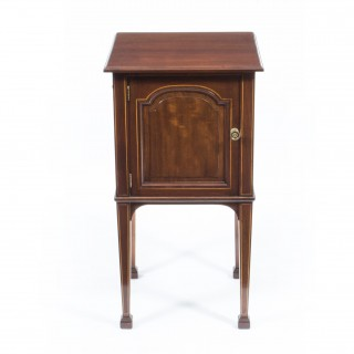 Antique Inlaid Mahogany Cabinet by Gillows 1897