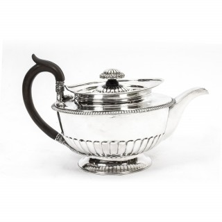 Antique Sterling Silver Teapot Paul Storr 1809