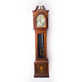 Antique English 5 Tube Musical Longcase Clock c.1900