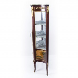 Antique French Vernis Martin Vetrine Display Cabinet c.1870