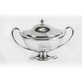 Antique Silver George III Tureen William Bennett 1808