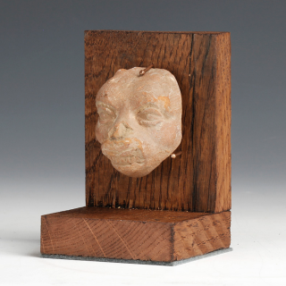 Romano-Egyptian Demon Head Terracotta