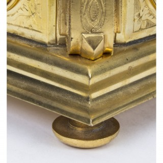 Antique Gilt Bronze Jewel Casket Box by Tahan c.1870