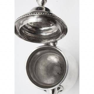 Antique Hester Bateman Silver Coffee Pot 1777