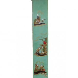 English Chinoiserie Chiming Grandmother Clock by Elliott
