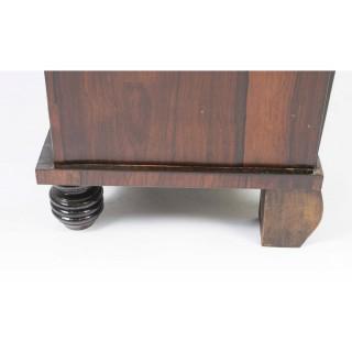 Antique Regency Brass Inlaid Cabinet Chiffonier c.1820